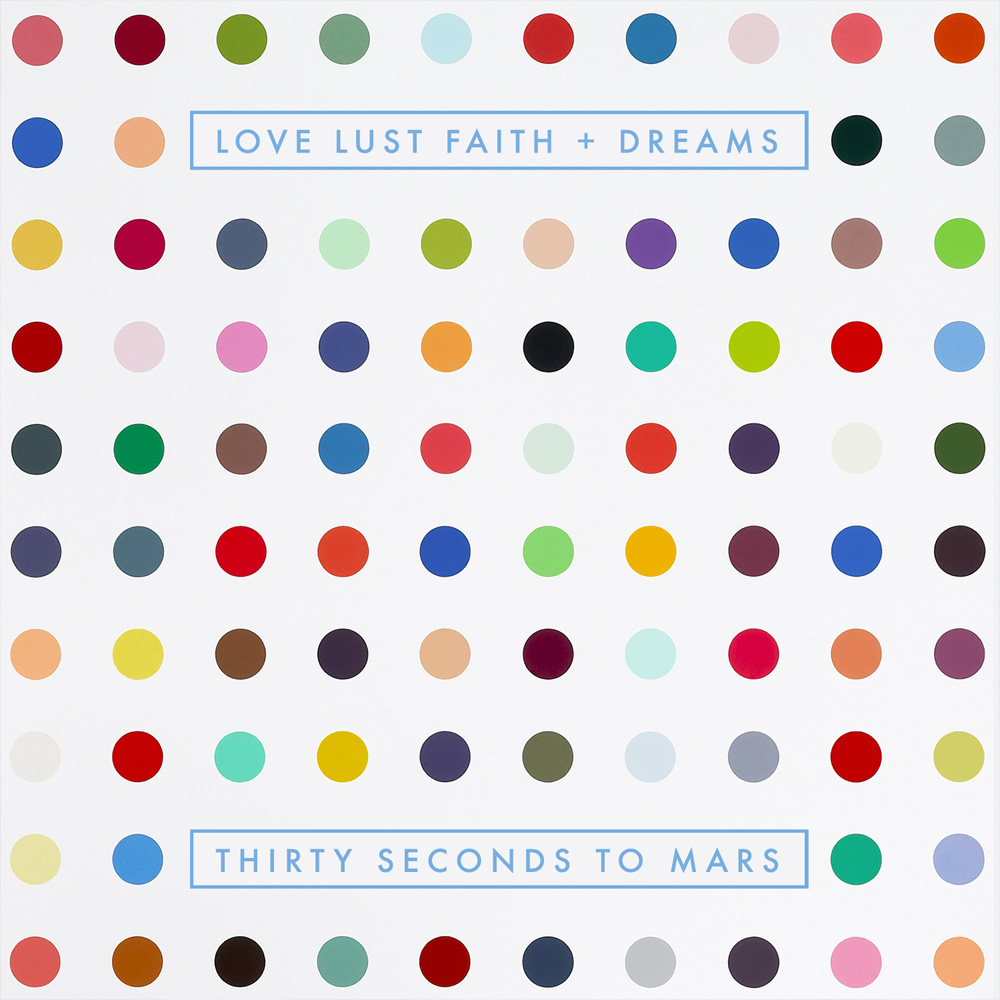 5. 30 Seconds to Mars - Love Lust Faith + Dreams