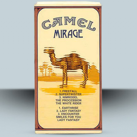 Camel - Mirage - Cigarette box