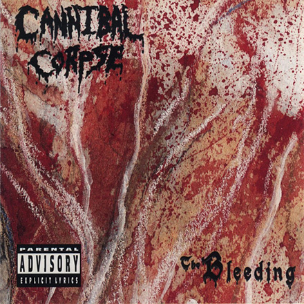 Cannibal Corpse - Bleeding censored cover