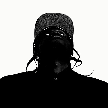 Cover Avarts 2013 - Edgar Bąk: Pusha T - My Name is My Name (Donda, Joe Perez)