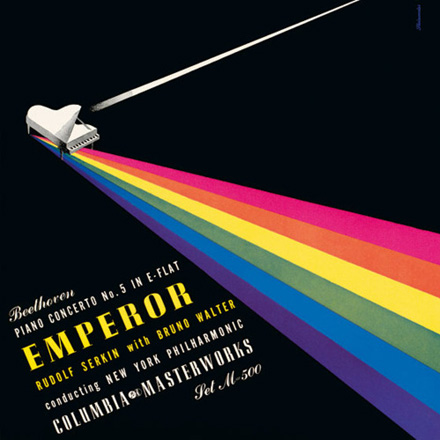 Pink Floyd: Dark Side of the Moon vs. Alex Steinweiss' Bethoveens Emperor