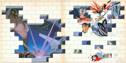 Pink Floyd: The Wall - Inner Sleeve