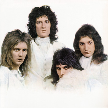 Queen: Queen II - white side