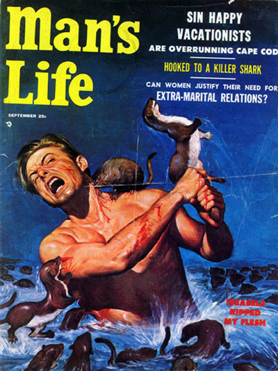 Man's Life Magazine: Weasels Ripped My Flash